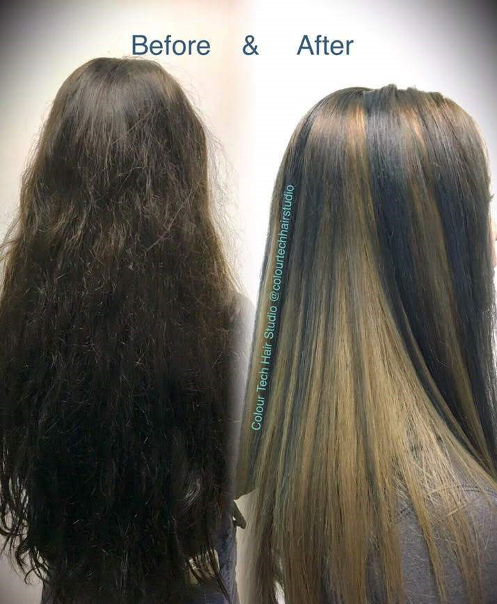 Before and After Photo Gallery | Colour Tech Hair Studio Langley BC