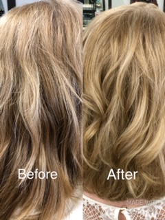 Before & After Colour Tech Hair Studio Makeover 2
